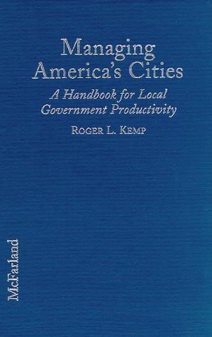 Managing America's cities