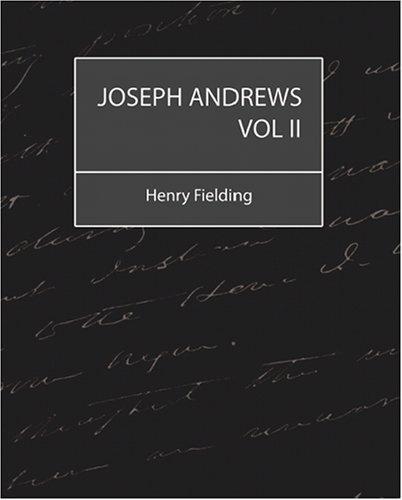 Joseph Andrews Vol 2