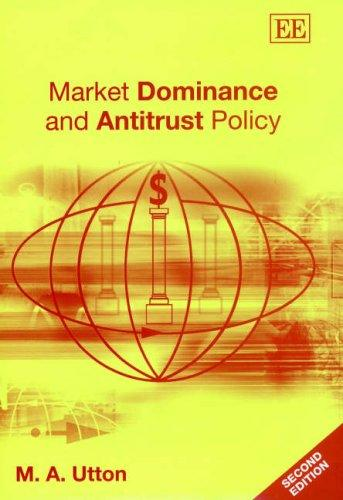 Download Market Dominance and Antitrust Policy