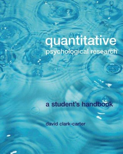 Download Quantitative psychological research