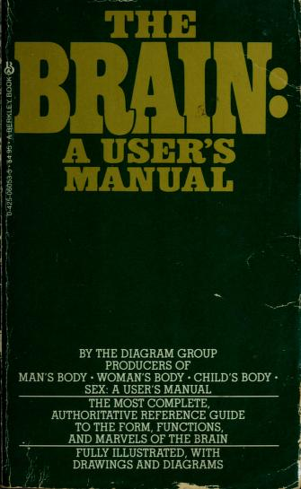 Cover of: Brain/a Users Manual | Diagram Group.