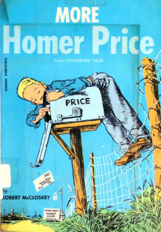 Cover of: More Adventures of Homer Price   Robert McCloskey