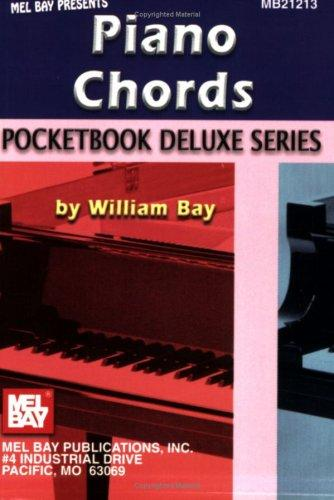 Mel Bay Piano Chords, Pocketbook Deluxe Series (Pocketbook Deluxe) by William Bay