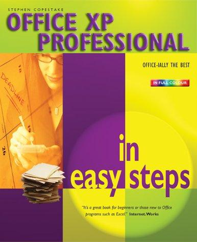 Office XP Professional in Easy Steps by Stephen Copestake