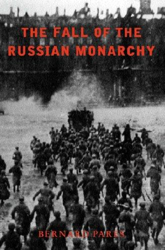 The fall of the Russian monarchy